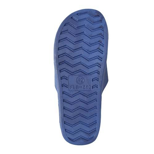 MEN PVC SLIPPER ( P 662-B) BLUE