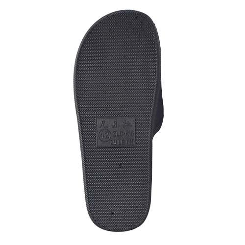 MEN PVC SLIPPER (P A15-BK) BLACK