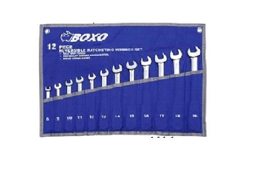 12pcs Double Open End Wrench Set - Pouch Bag