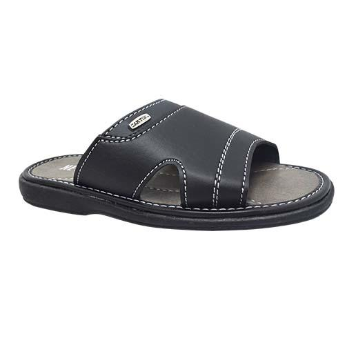 NEWMEN - MEN SANDALS (MA 2203-BK) BLACK