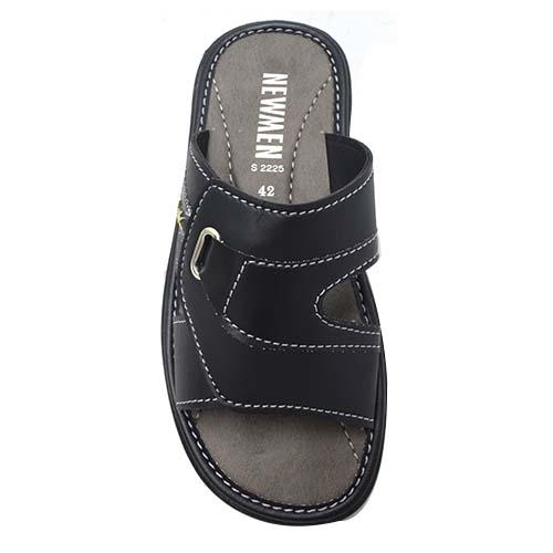 NEWMEN - MEN SANDALS (MA 2225-BK) BLACK