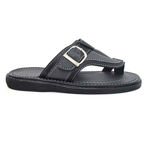 NEWMEN - MEN SANDALS (MA 2207-BK) BLACK