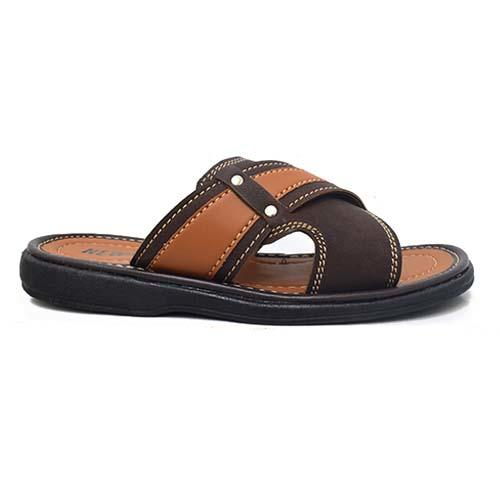 NEWMEN - MEN SANDALS (MA 2209-BN) BROWN