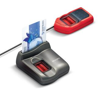MorphoSmart Mykard Biometric Fingerprint
