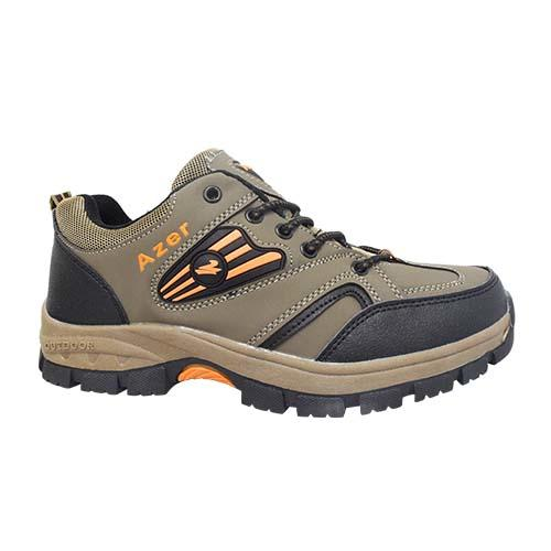 AZER - MEN'S FASHION HIKING SHOE (S 182-BN) BROWN
