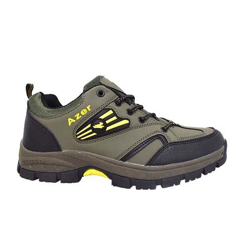 AZER - MEN HIKING SHOE (S 182-G) GREEN