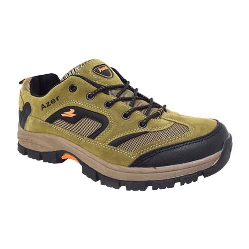 AZER - MEN'S STYLE HIKING SHOE (S 187-BN) BROWN