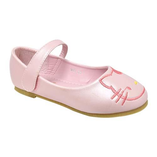 AZER - CHILDREN'S SLIP-ON BALLET SHOES (CK 980-P) PINK