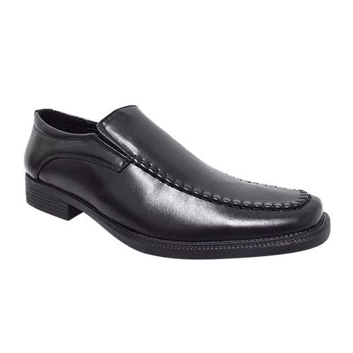 NEWMEN - MEN EXECUTIVE SHOE (MS 8121A-BK) BLACK