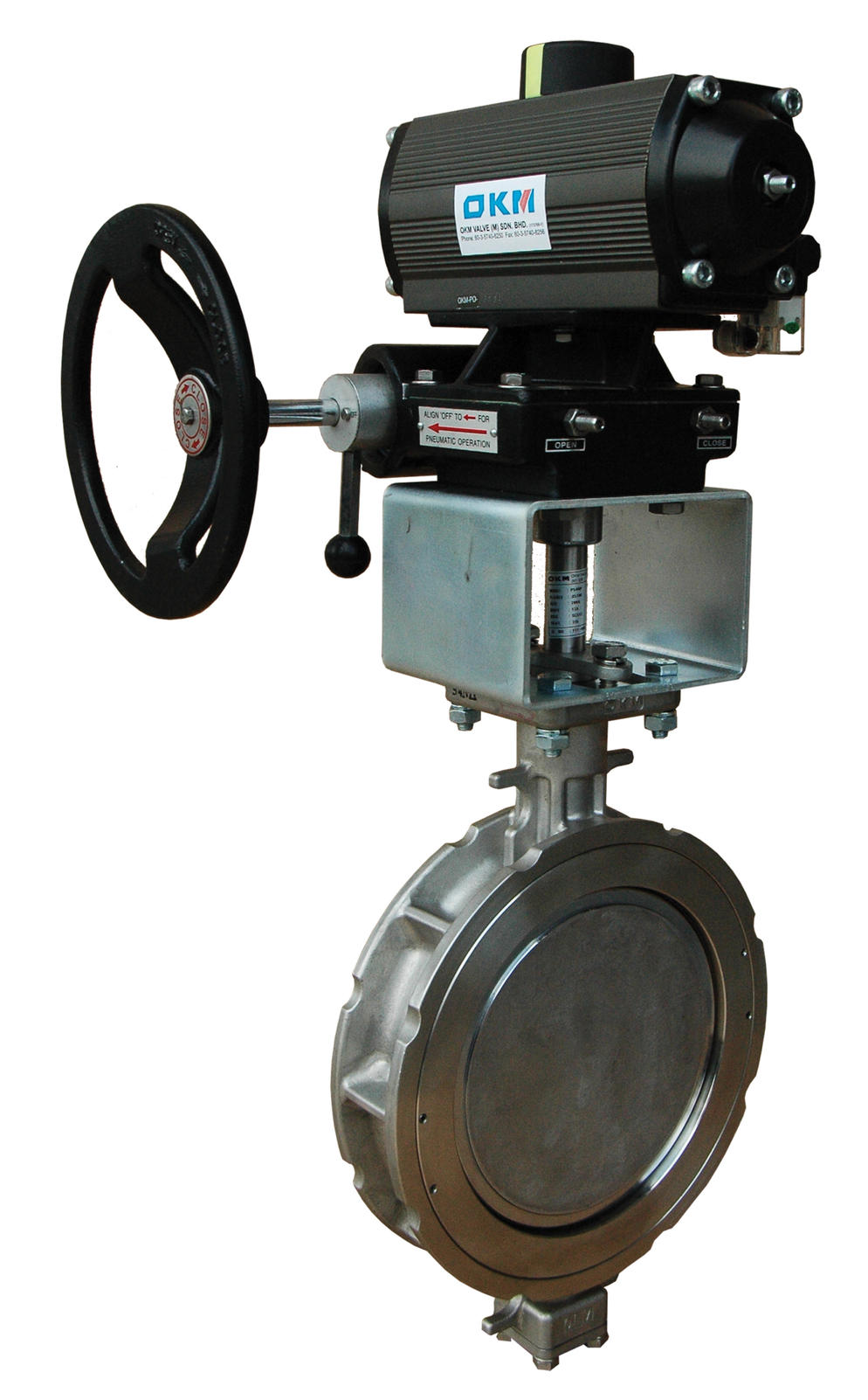 OKM 54MP/54TP Butterfly Valve