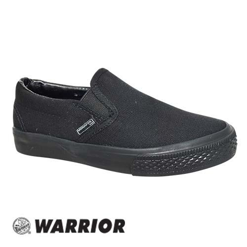 WARRIOR SLIP ON SHOE (W 2691-BK) BLACK
