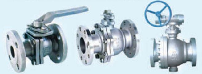 YASIKI Flanged Ends Ball Valve