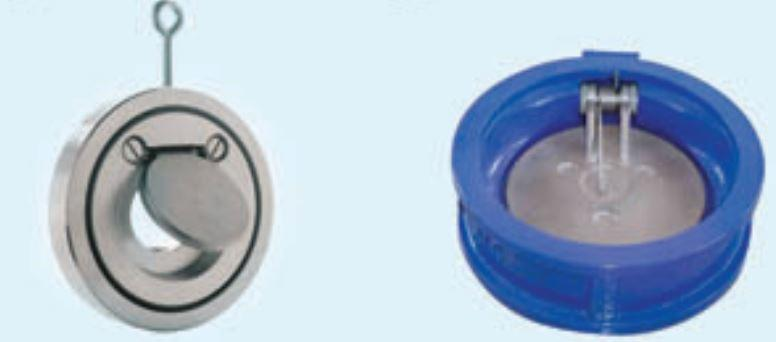Single Door Wafer Type Check Valves