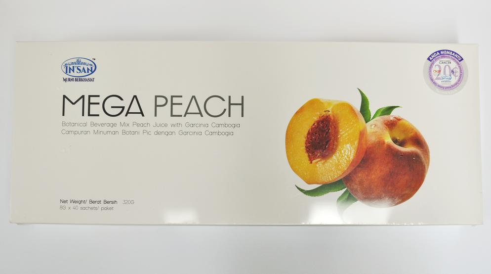 IN'SAN MEGA PEACH 8G x 40