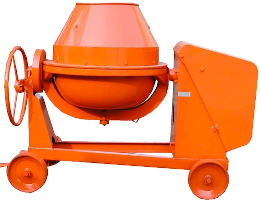7TM Concrete Mixer Powered by Diesel Engine