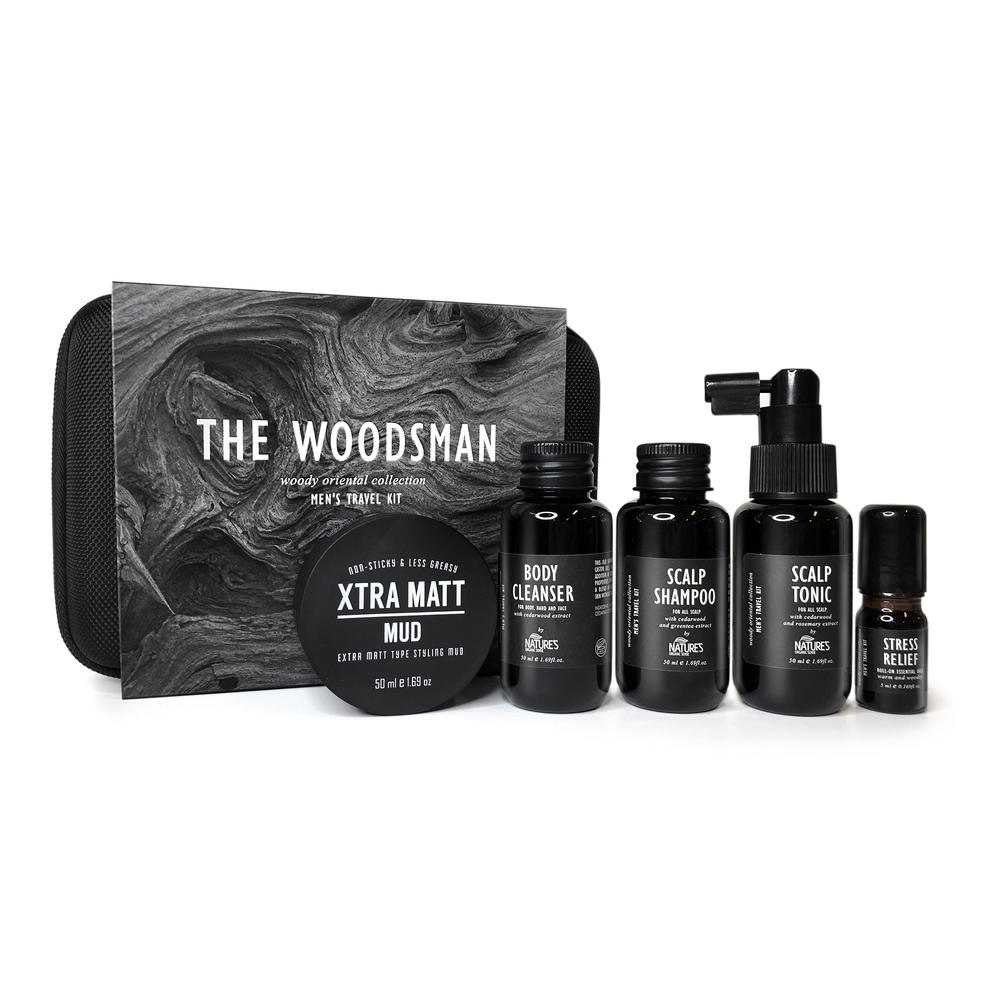 THE WOODSMAN Men's Travel Kit ( Limited Edition )