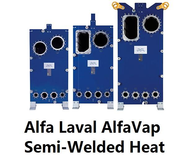 Alfa Laval AlfaVap Semi-Welded Heat Exchanger