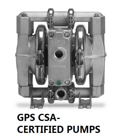 GPS CSA Certified Pumps