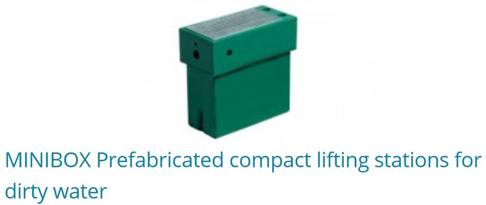 Minibox Prefabricated Lifting Stations For Dirty Water