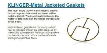 Klinger Metal Jacketed Gaskets