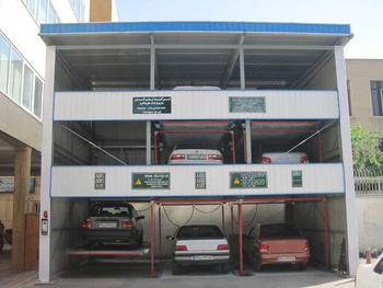 Vertical- Horizontal PSH3 levels Parking System