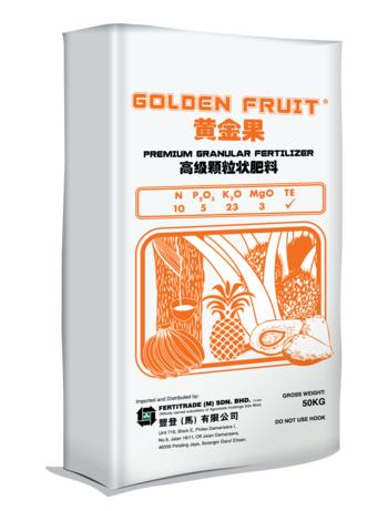 Golden Fruit Orange 10/5/23/3MgO+TE