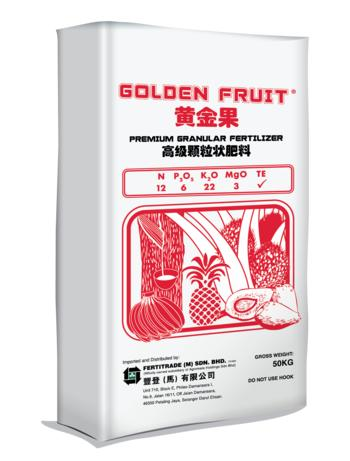 Golden Fruit Red 12/6/22/3+TE
