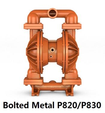 Bolted Metal P820/P830