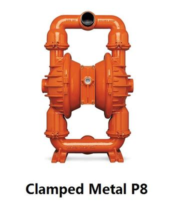 Clamped Metal P8