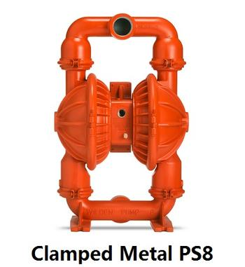 Clamped Metal PS8