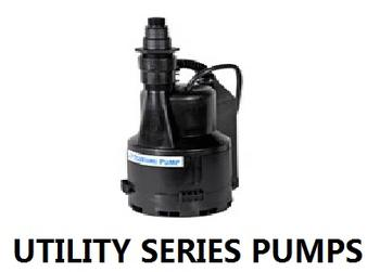 UTILITY Series Pumps