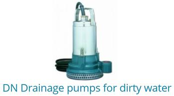 DN Drainage Pumps For Dirty Water