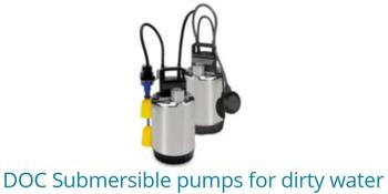 DOC Submersible Pumps For Dirty Water