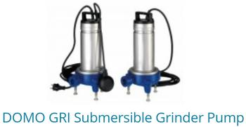 DOMO GRI Submiersible grinder pump
