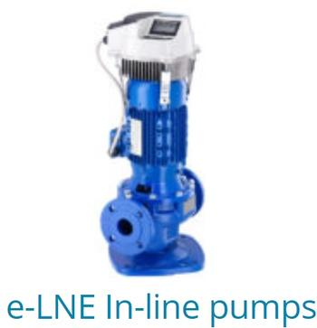 E-LNE In-Line Pumps