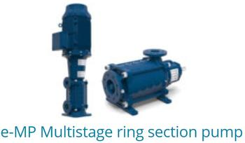 E-MP Multistage Ring Section Pumps