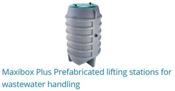 Maxibox Plus Prefabricated Lifting Stations For Wastewater Handling