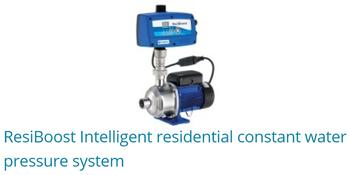 Resiboost Intelligent Residential Constant Water Pressure System