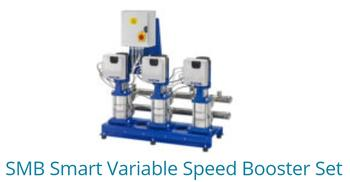 SMB Smart Variable Speed Booster Set