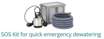 SOS Kits For Quick Emergency Dewatering