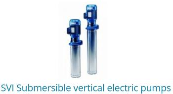 SVI Submersible Vertical Electric Pumps