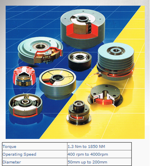 SUCO Centrifugal clutches and brakes