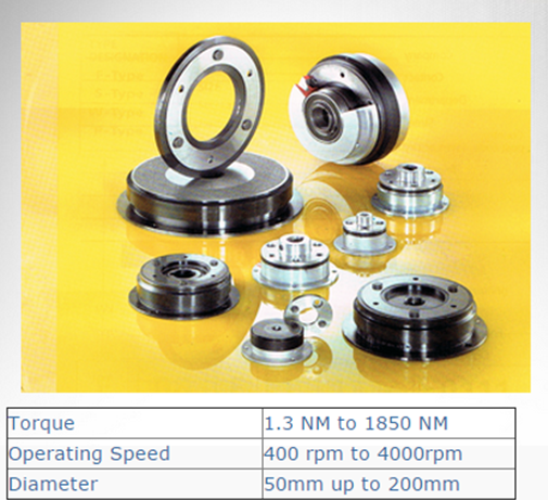 SUCO Electromagnetic Clutches and brakes