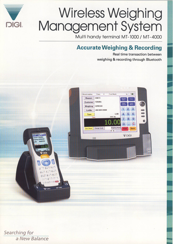 Wireless Weighing Management System