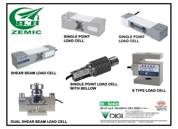 ZEMIC Load Cell