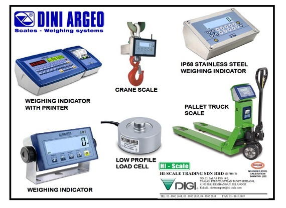 Dini Argeo Scales - Weighing System