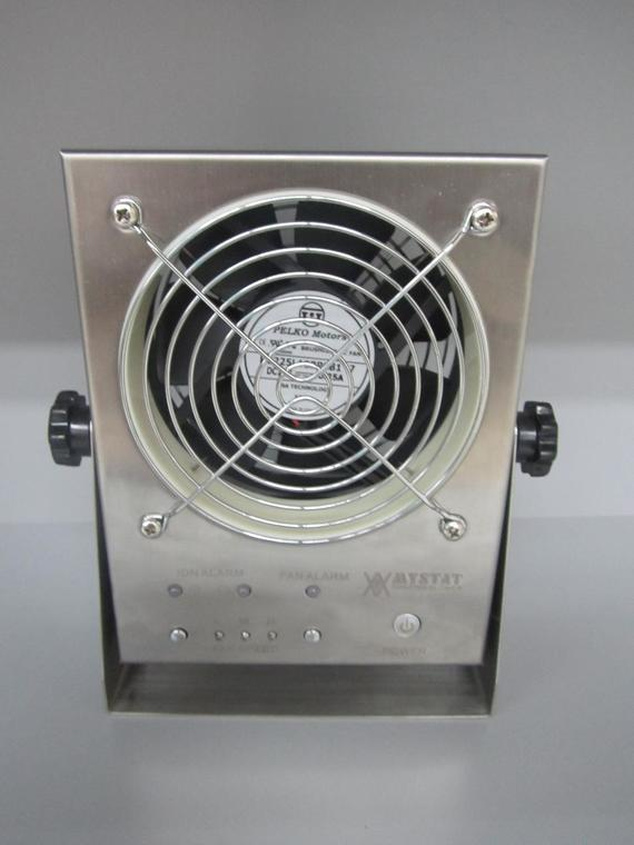 Ionizer - BenchTop 1 Fan with Alarm