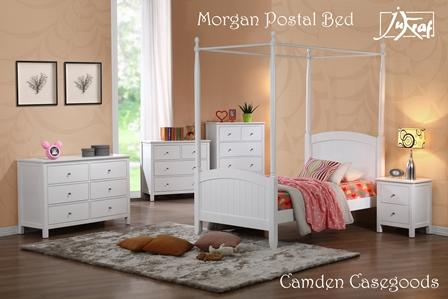Morgan 4 Postal Bedroom