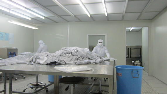 Cleanroom Laundry Services