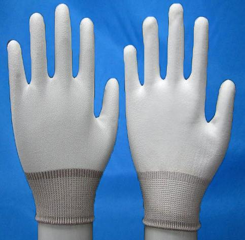 Nylon PU Palm Fit Glove
